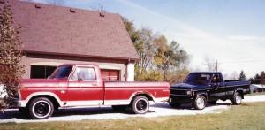 Red Black Truck