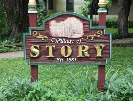 Cooking Up Stories at The Story Inn