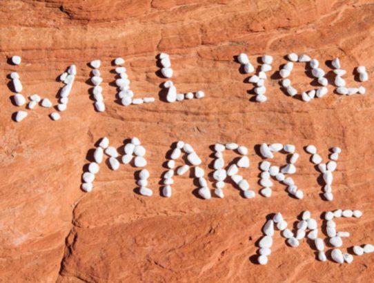 Telemarking Marriage Proposal
